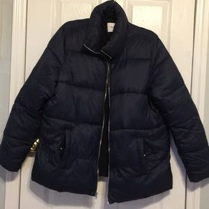 OLD NAVY NAVY BLUE PUFFER JACKET